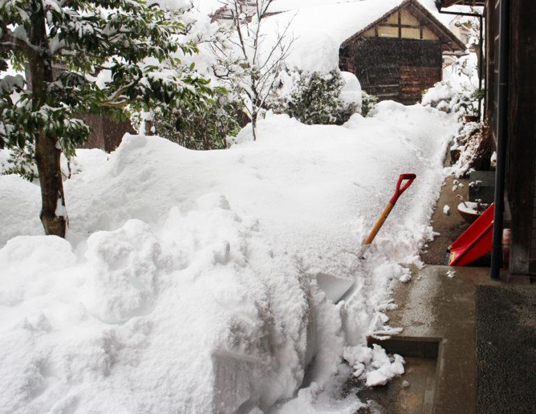 12月31日の大雪