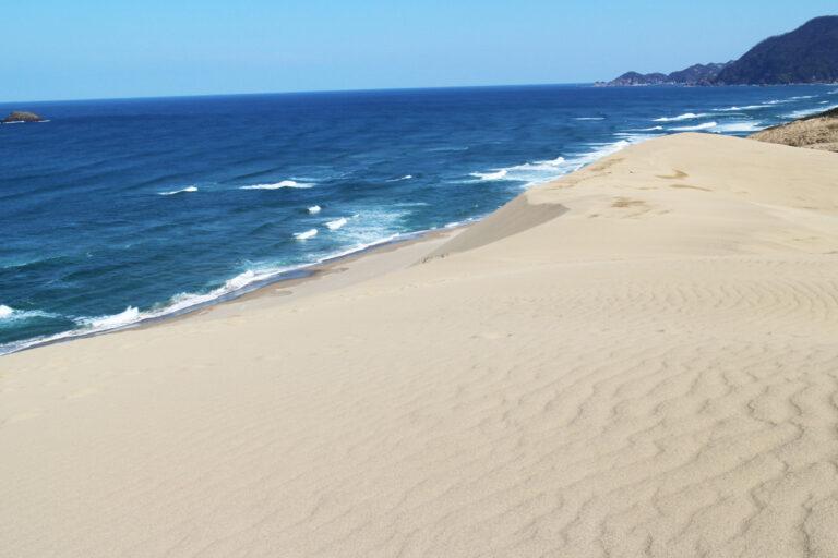 鳥取砂丘の早春